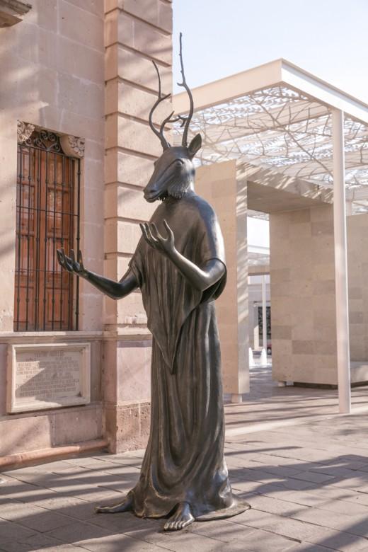 メキシコ アグアスカリエンテス 市街地の像2