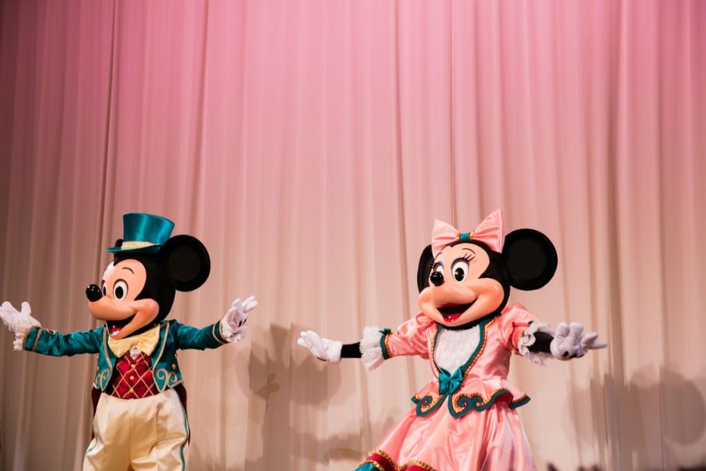ミッキーとミニー1
