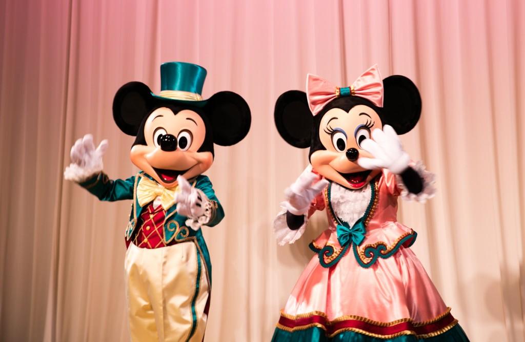 ミッキーとミニー2