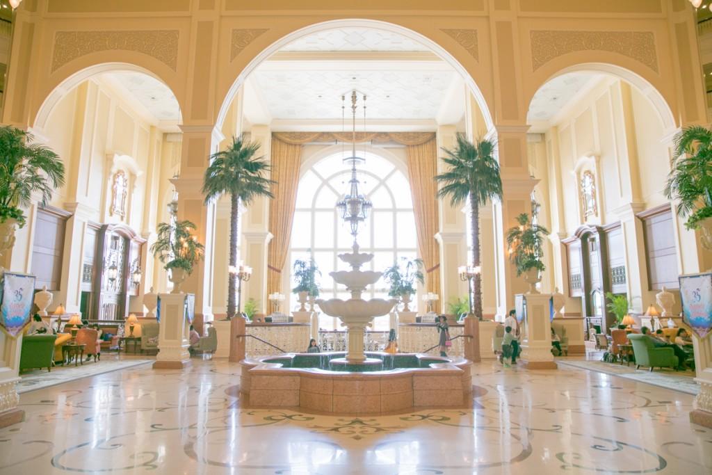 ディズニーランドホテル ロビー2