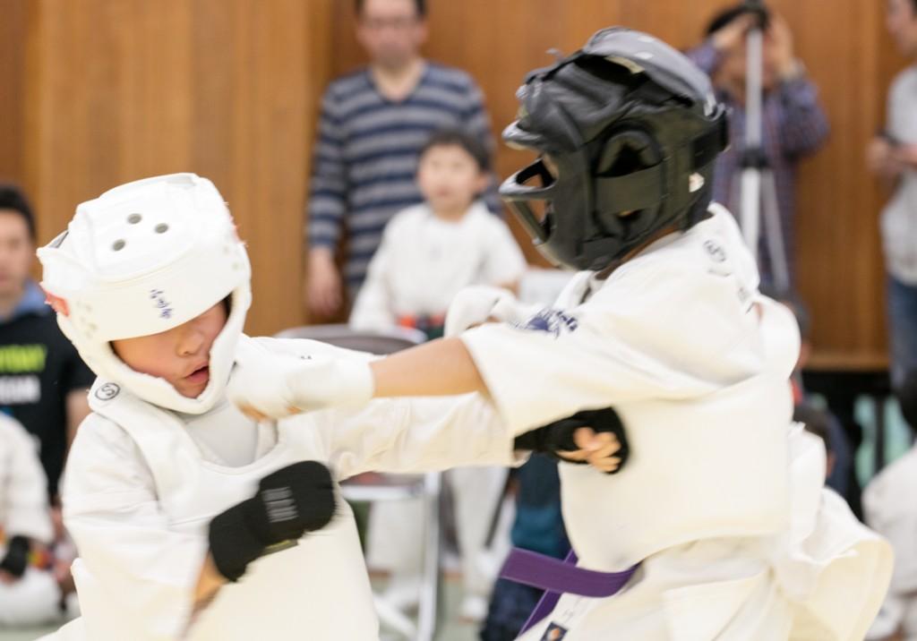 正道会館 西尾張交流大会2018 2試合目1