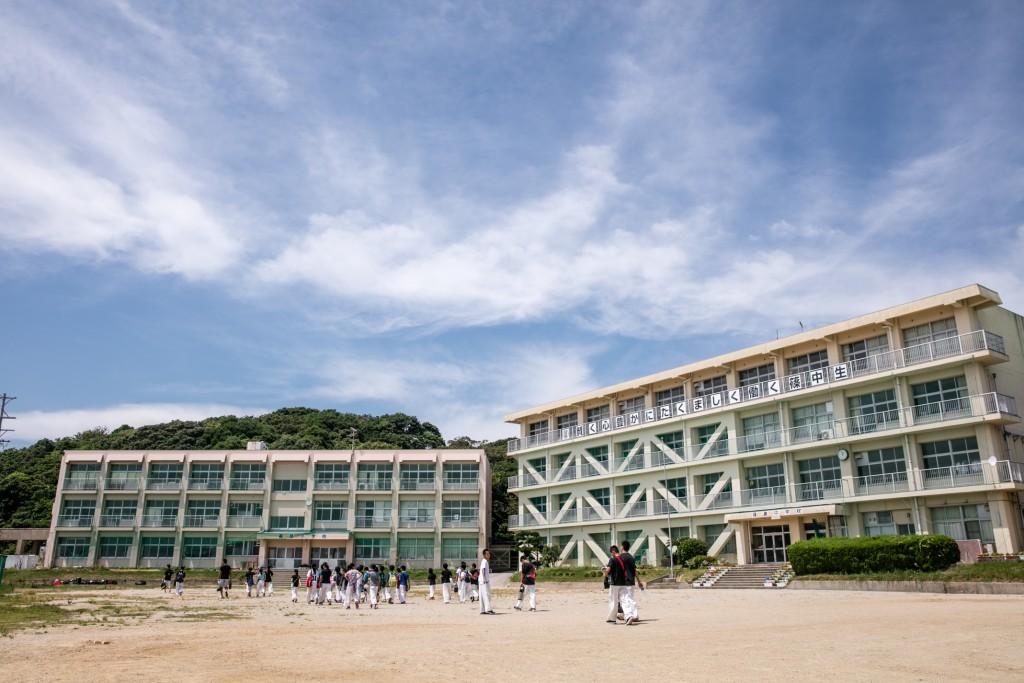 2018年正道会館新心館合宿 篠島小学校