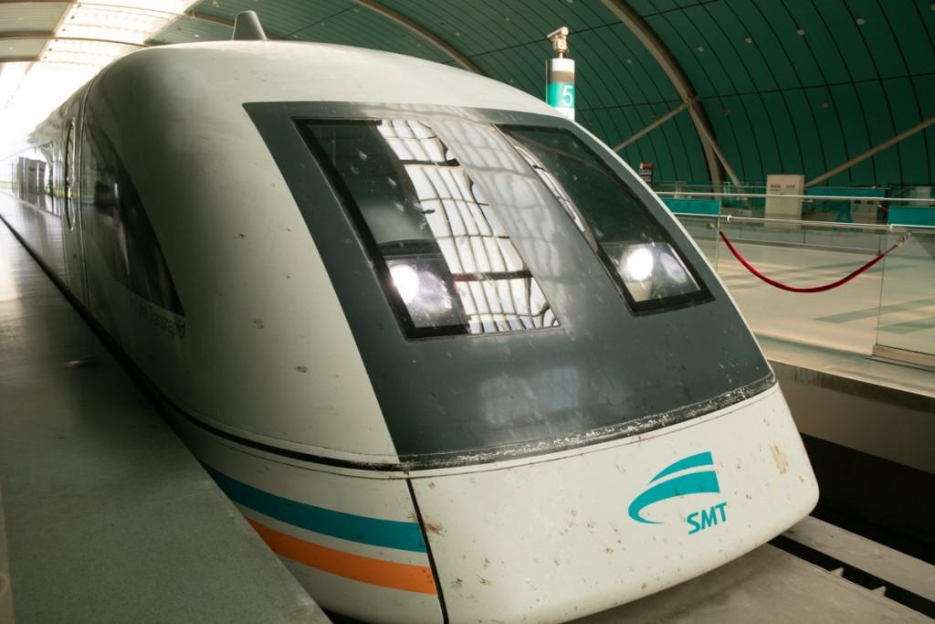 上海浦東空港 リニアモーターカー