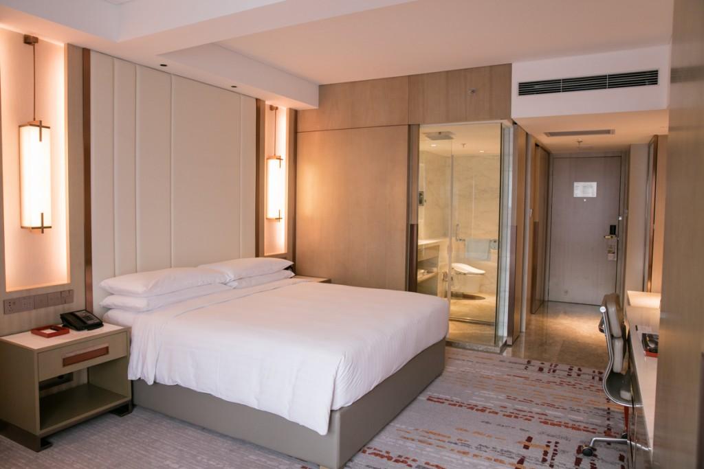 上海 マリオットホテル 虹橋 ベッドルーム2
