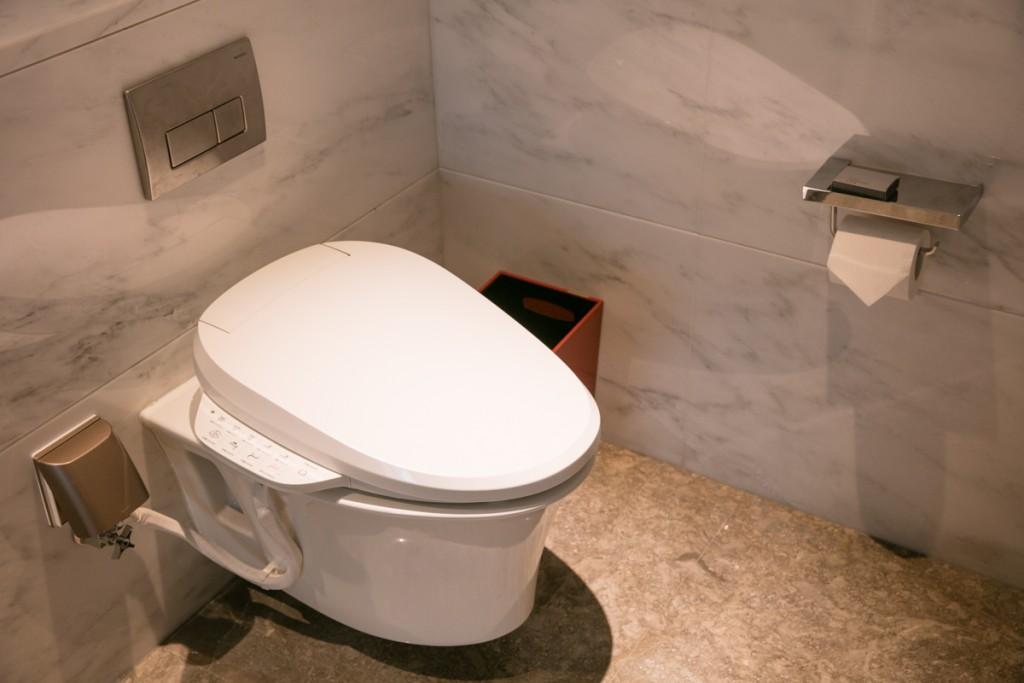 上海 マリオットホテル 虹橋 トイレ