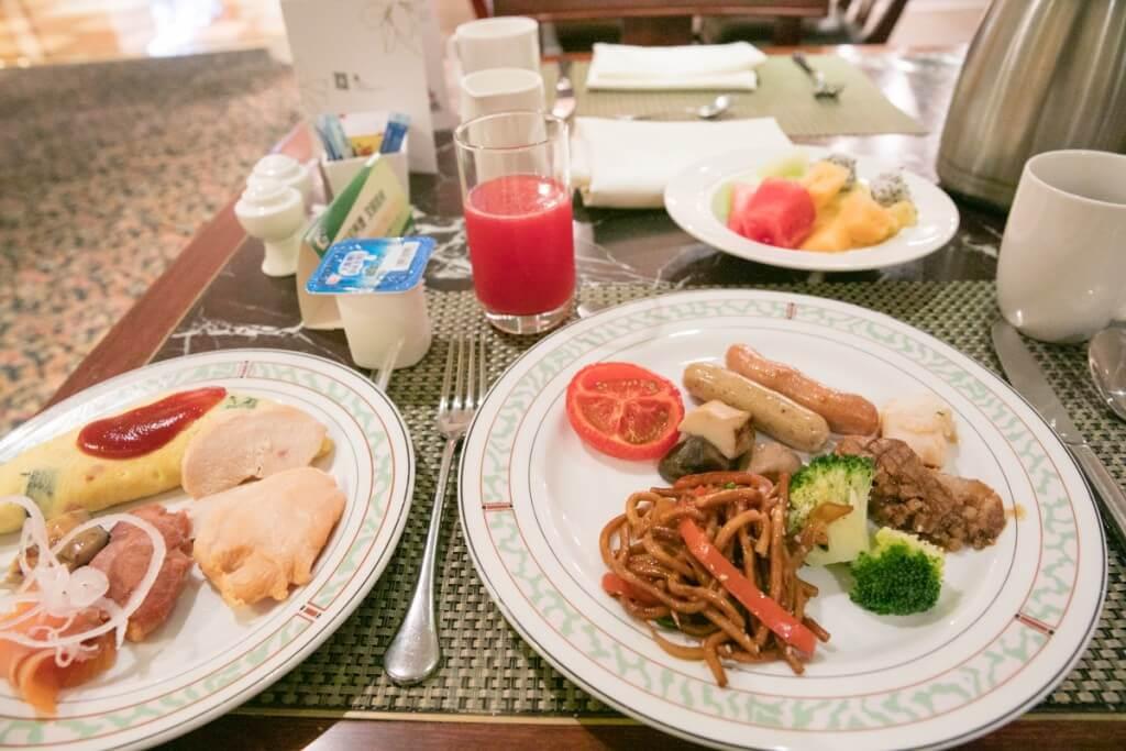 上海 マリオットホテル 虹橋 朝食