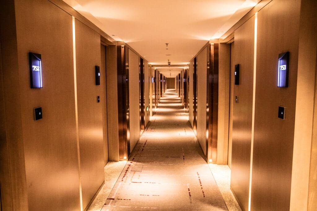 上海 マリオットホテル 虹橋 廊下