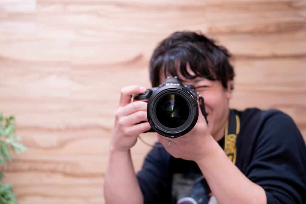 ジュンイチさん with カメラ
