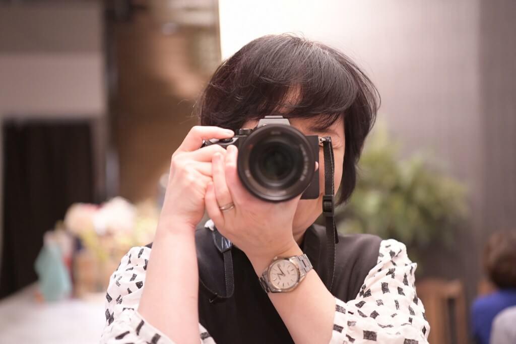 acoさん with カメラ