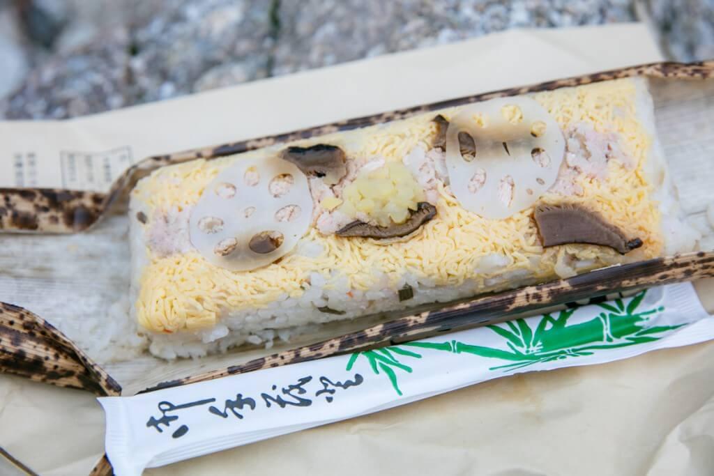 槍沢ロッヂ お弁当