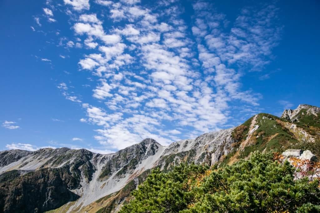 大喰岳と中岳
