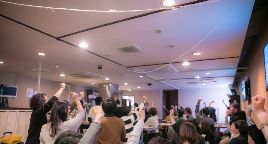 落合正和・松原潤一 2019年のブログ超活用術セミナー懇親会