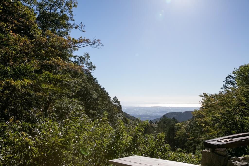 藤内小屋からの景色