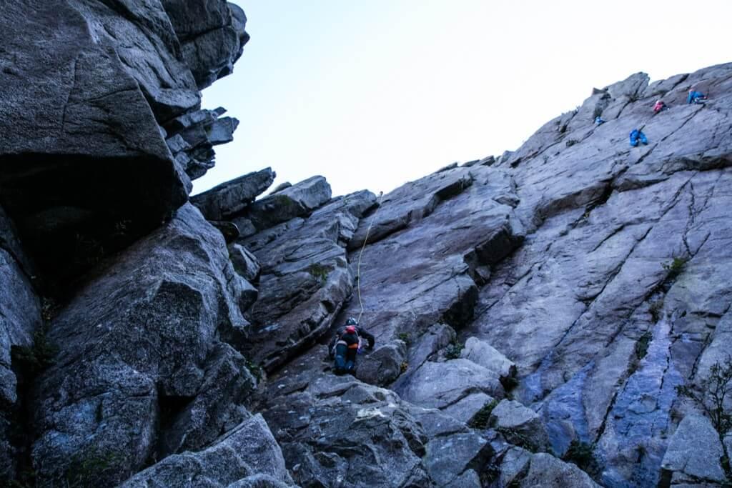 御在所岳 藤内壁 一の壁1