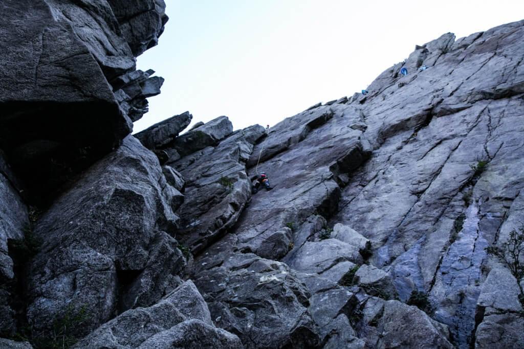 御在所岳 藤内壁 一の壁2