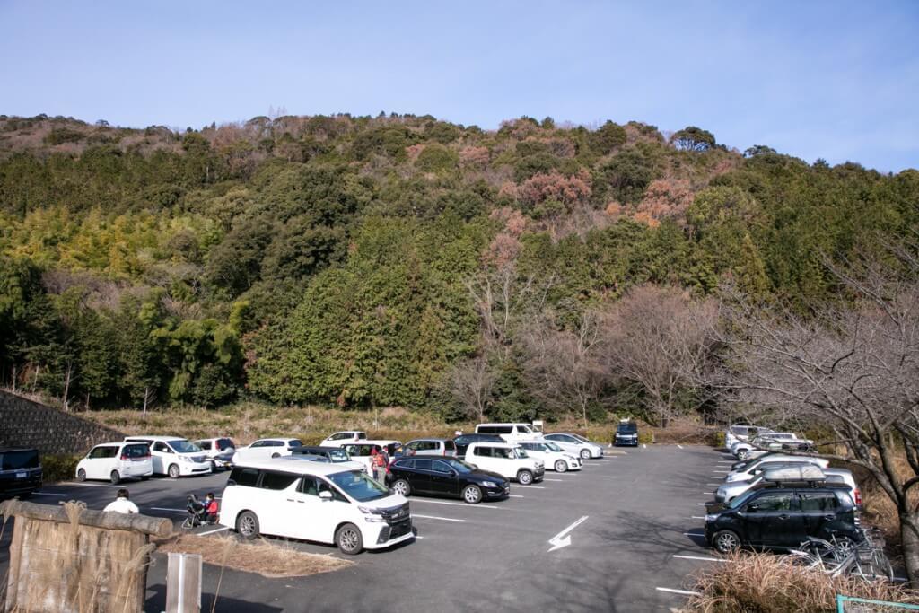 多度山 ポケットパーク駐車場