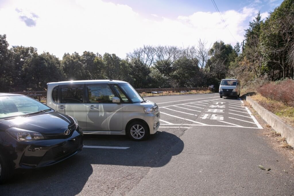 多度山 愛宕神社前駐車場