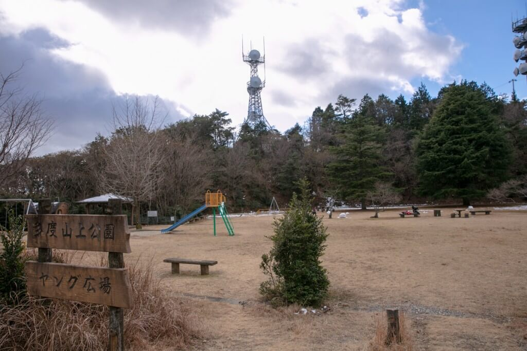 多度山 山上公園 ヤング広場