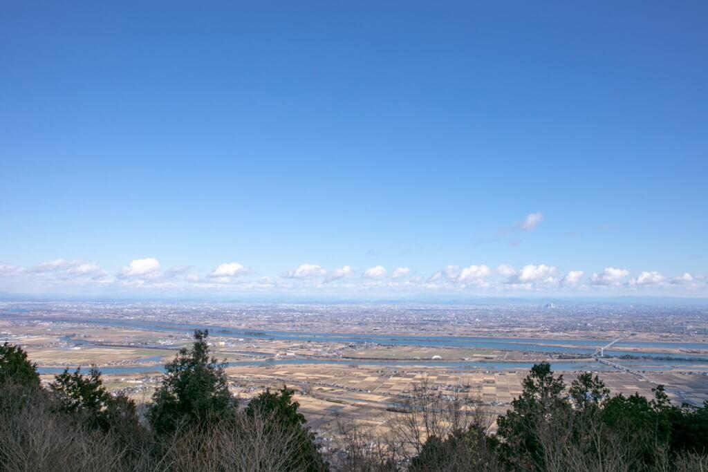 多度山 山上公園 からの眺望