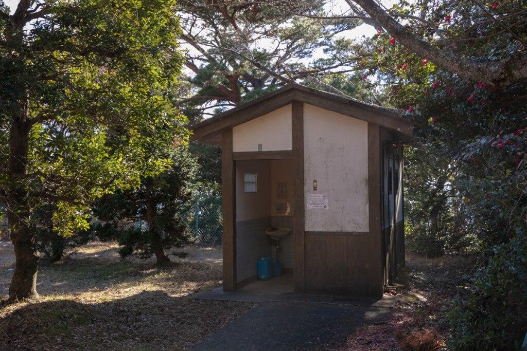 多度山 山上公園 トイレ