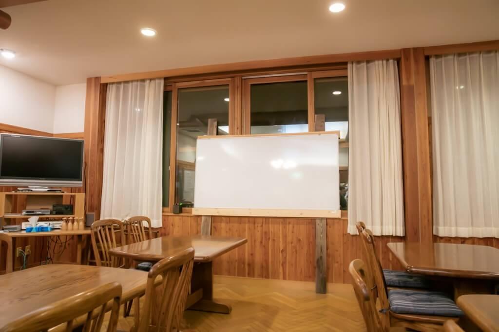 上高地アルプス山荘 食堂