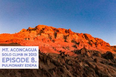 アコンカグア登山ベースキャンプ プラザ・デ・ムーラスからのアコンカグア
