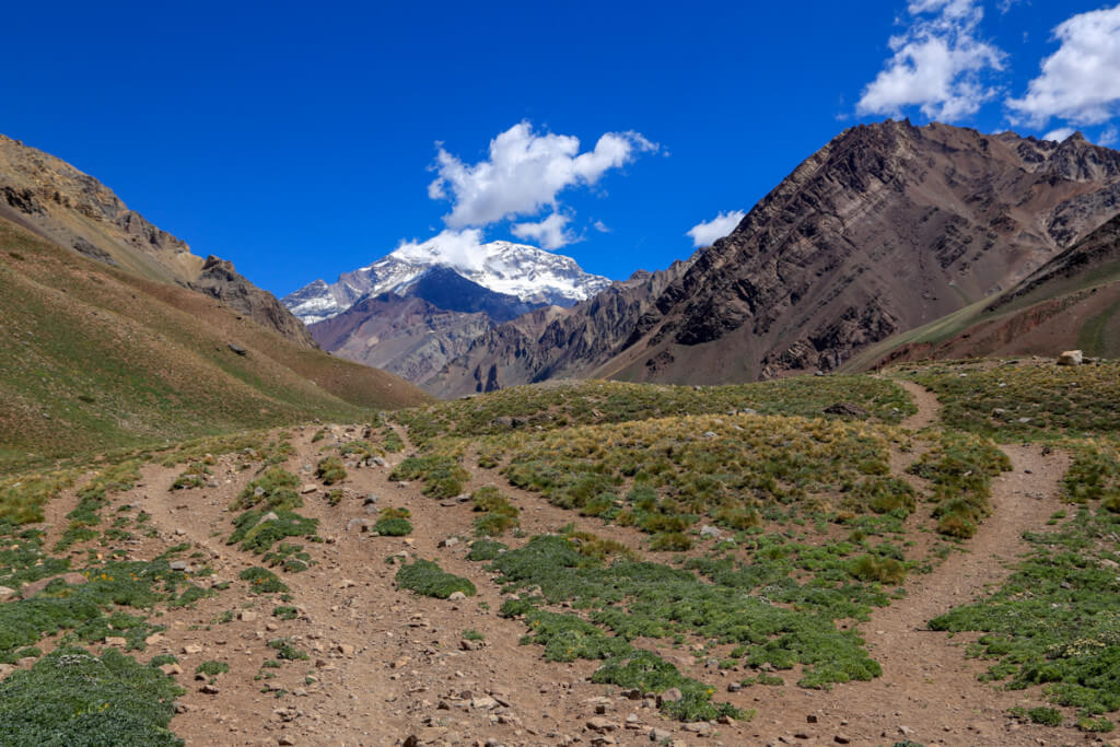 アコンカグア オルコネス登山口2
