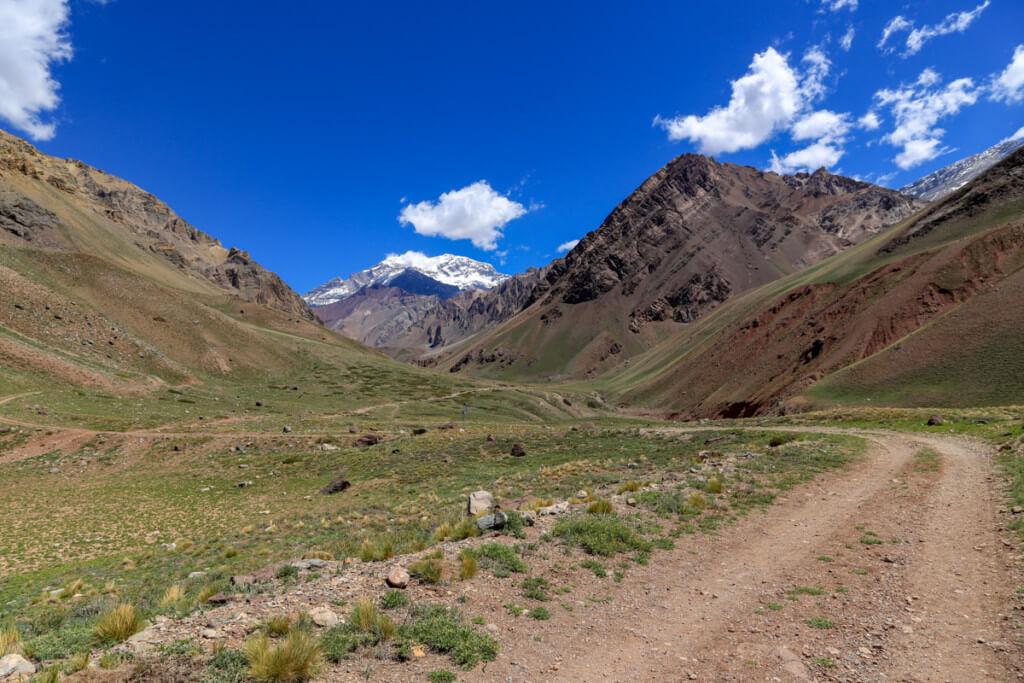 アコンカグア オルコネス登山口3