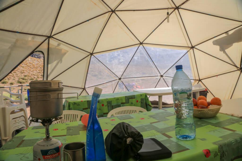コンフルエンシア LANKOのテント