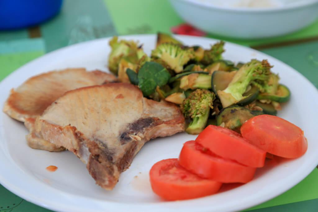 コンフルエンシアの夕食