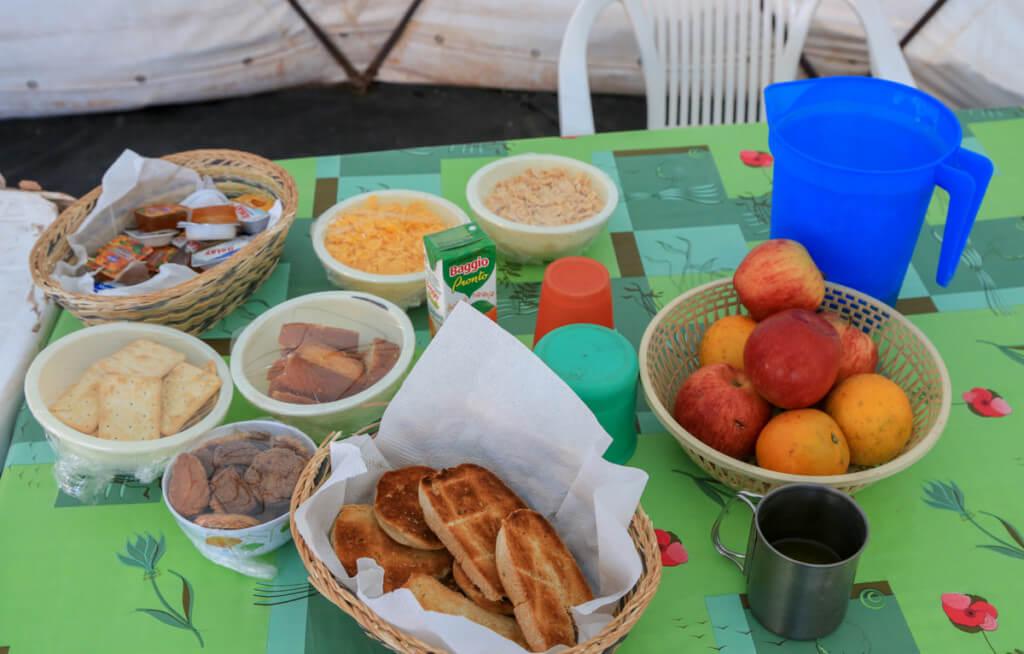 コンフルエンシアの朝食