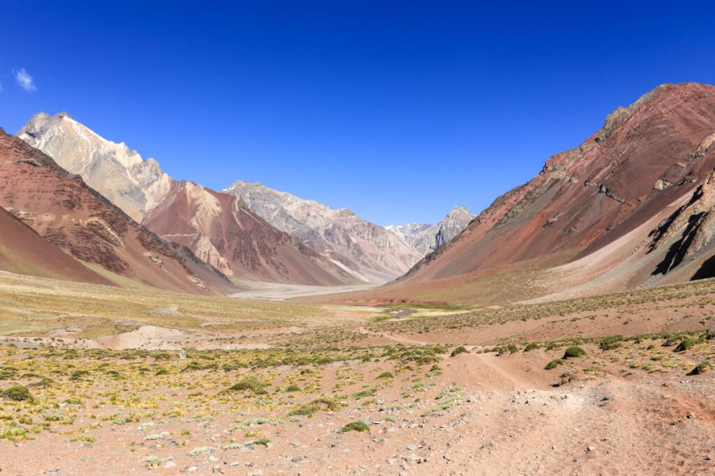 アコンカグア登山 プラザ・デ・ムーラスへの道2