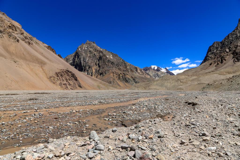 アコンカグア登山 プラザ・デ・ムーラスへの道5