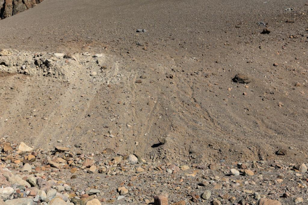 アコンカグア登山 プラザ・デ・ムーラスへの間違った道
