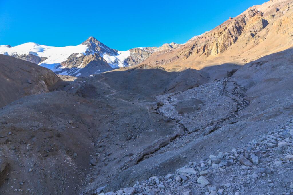 アコンカグア登山 プラザ・デ・ムーラスへの道9