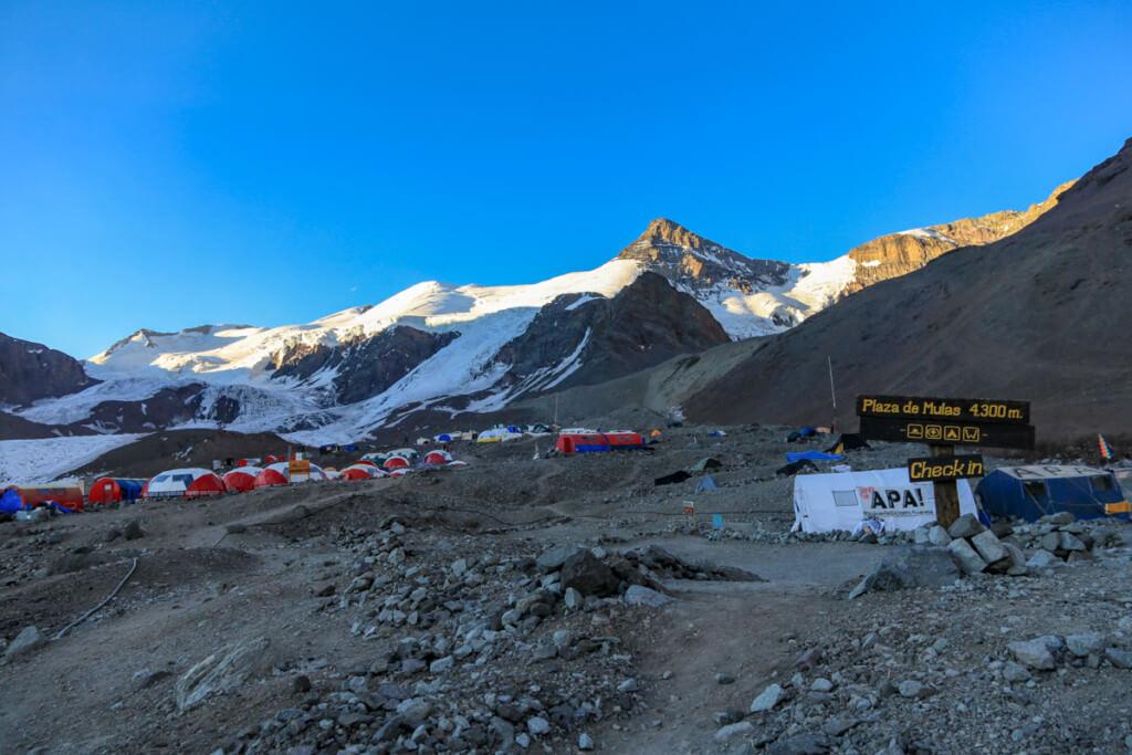 アコンカグア登山 プラザ・デ・ムーラス