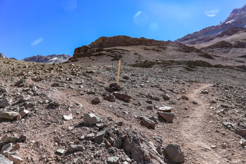 アコンカグア登山ベースキャンプ プラザ・デ・ムーラス〜キャンプカナダ2