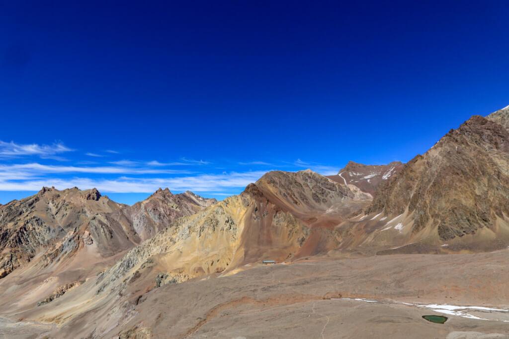 アコンカグア登山ベースキャンプ プラザ・デ・ムーラス〜キャンプカナダ4
