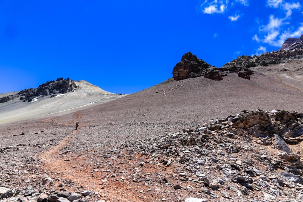 アコンカグア登山ベースキャンプ プラザ・デ・ムーラス〜キャンプカナダ6