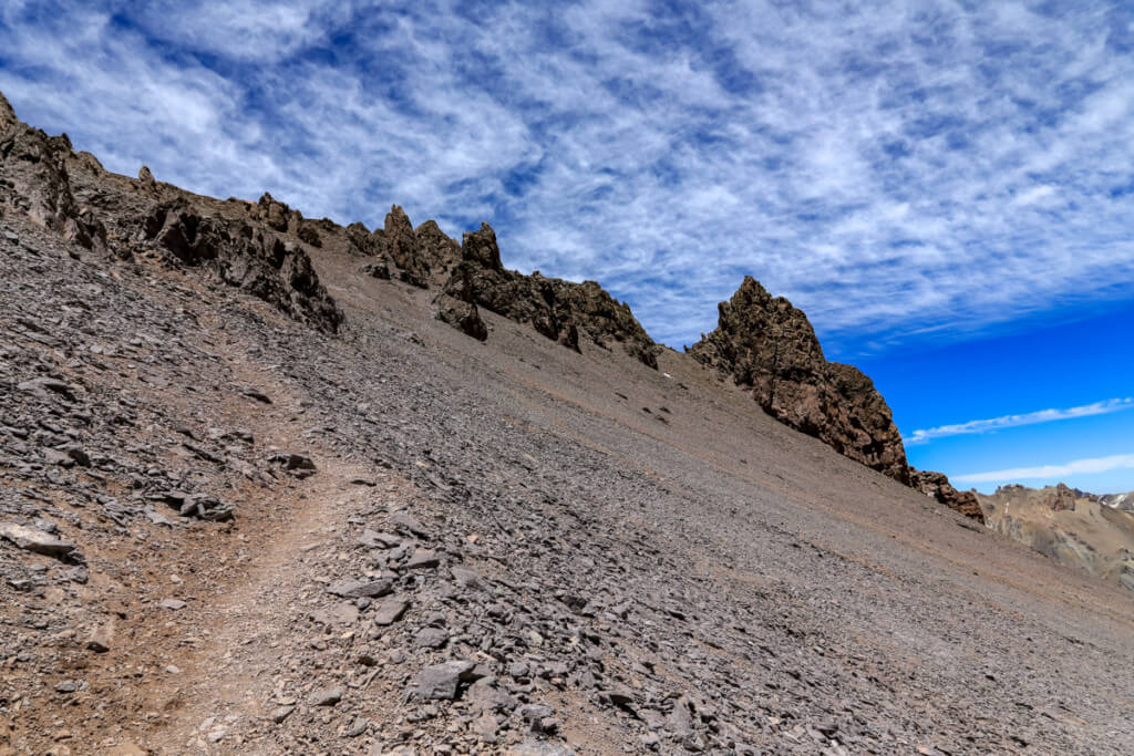 アコンカグア登山ベースキャンプ プラザ・デ・ムーラス〜キャンプカナダ7