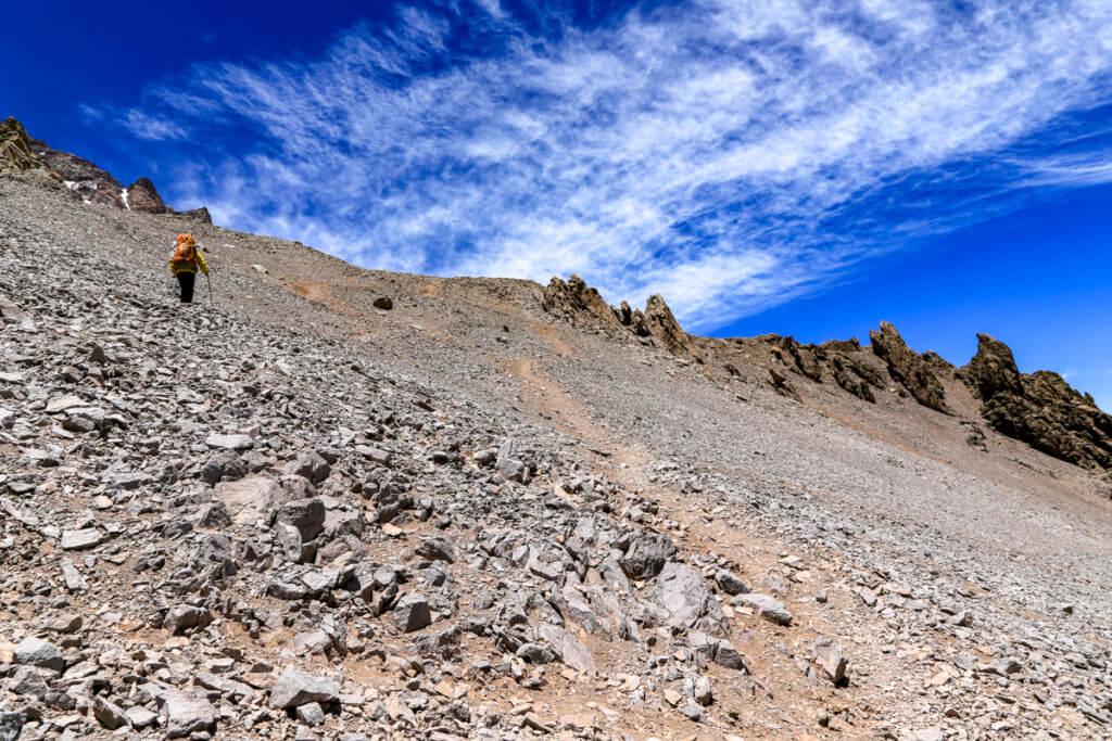 アコンカグア登山ベースキャンプ プラザ・デ・ムーラス〜キャンプカナダ8