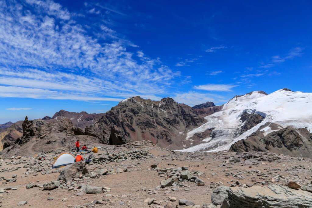 アコンカグア登山 キャンプカナダ1
