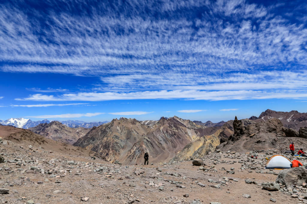 アコンカグア登山 キャンプカナダ2