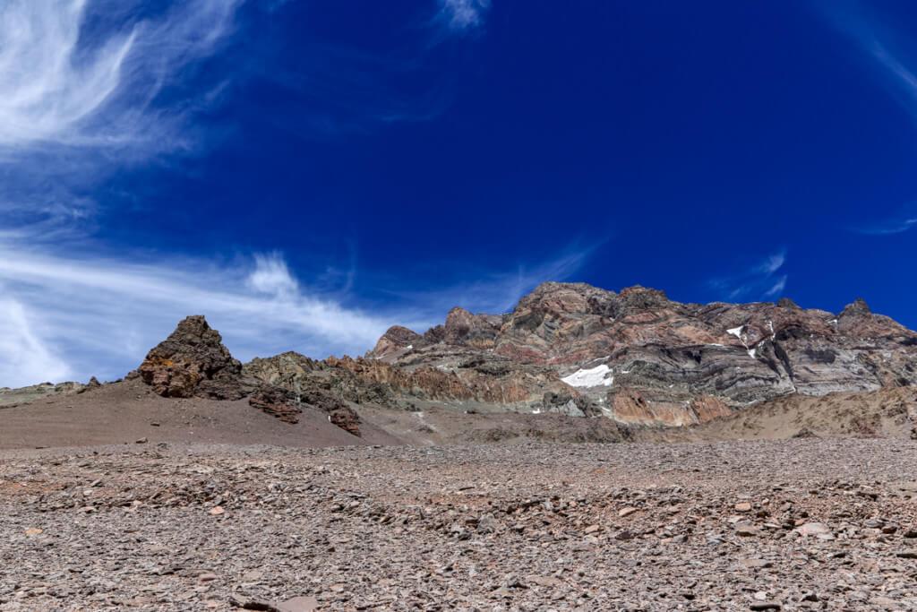 アコンカグア登山ベースキャンプ プラザ・デ・ムーラス〜キャンプカナダ9