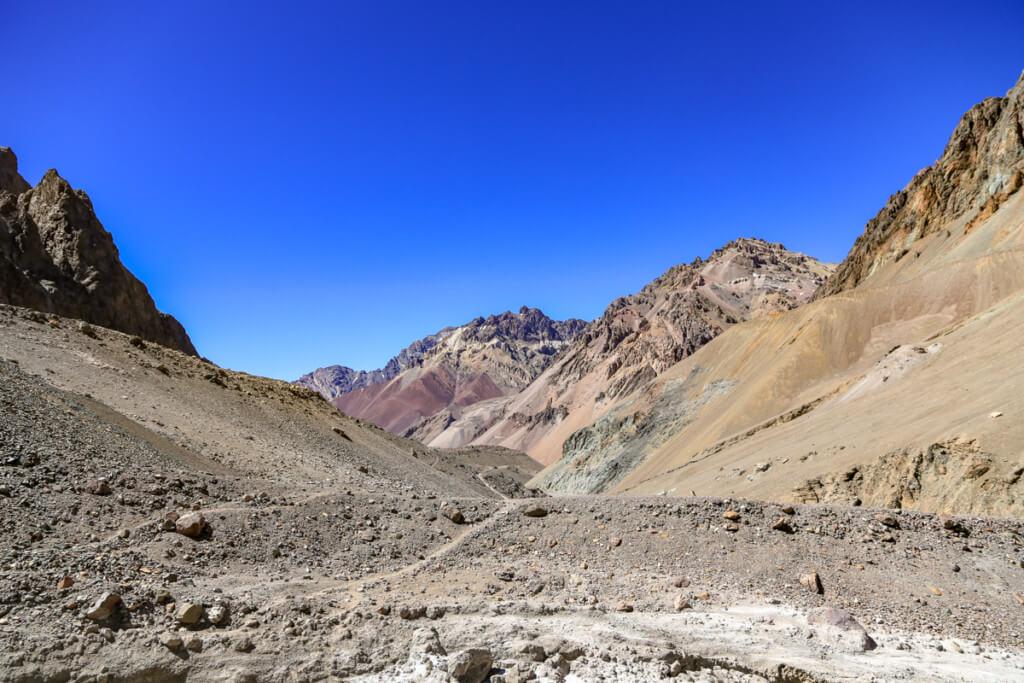 アコンカグア登山 プラザ・デ・ムーラスから下山3