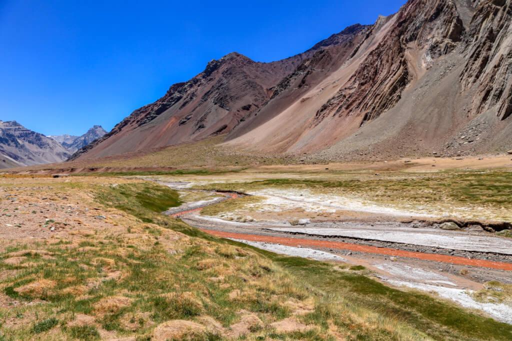 アコンカグア登山 プラザ・デ・ムーラスから下山7