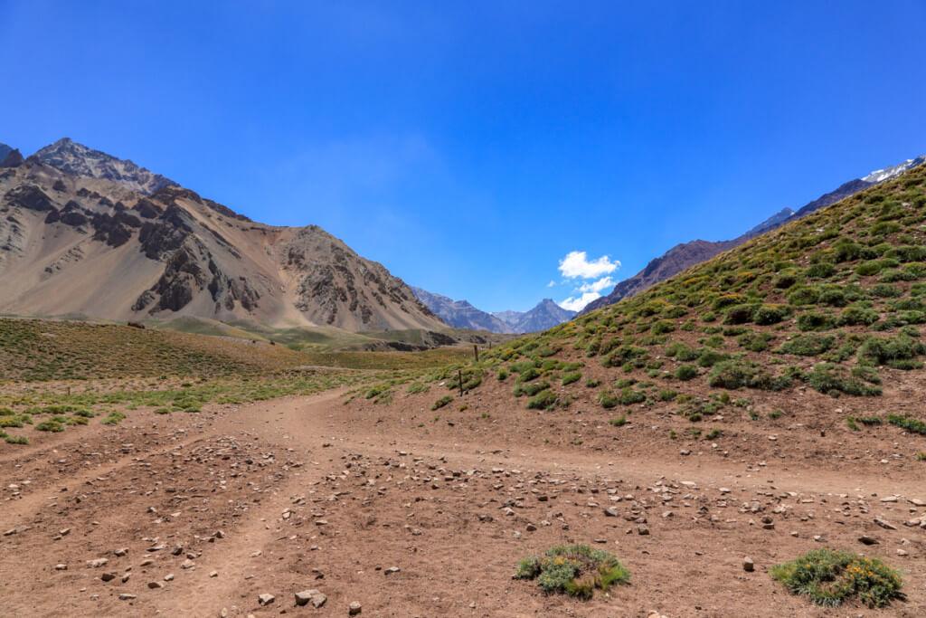 アコンカグア登山 コンフルエンシアから下山1