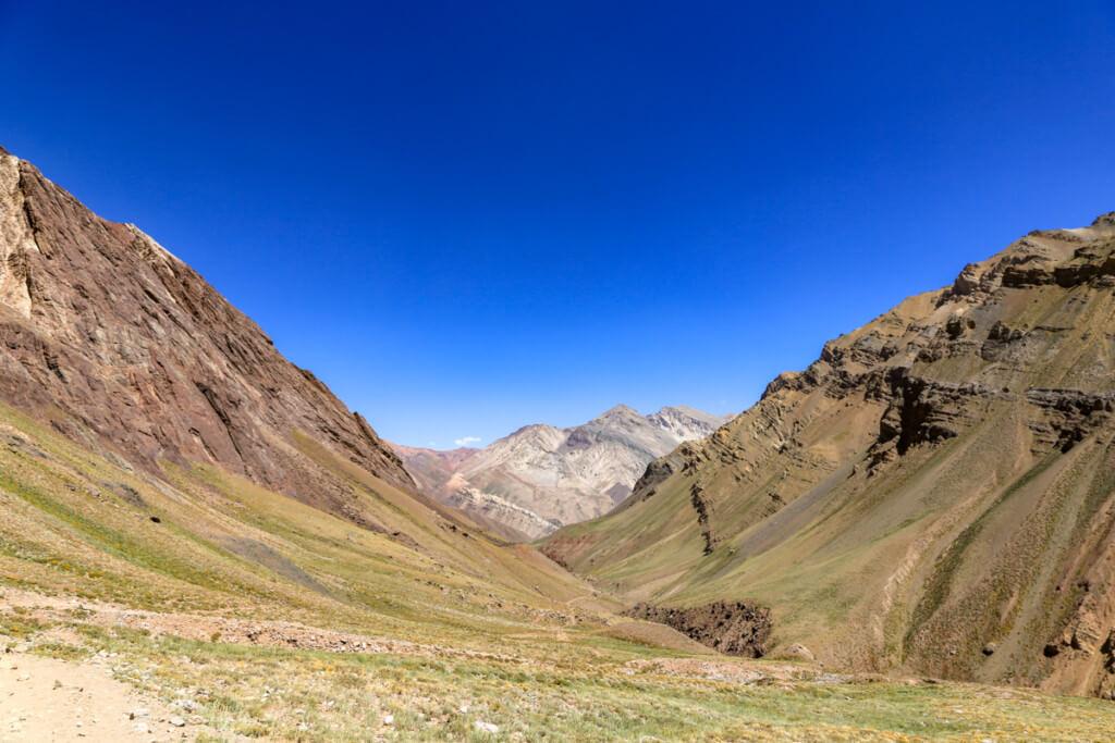 アコンカグア登山 コンフルエンシアから下山2