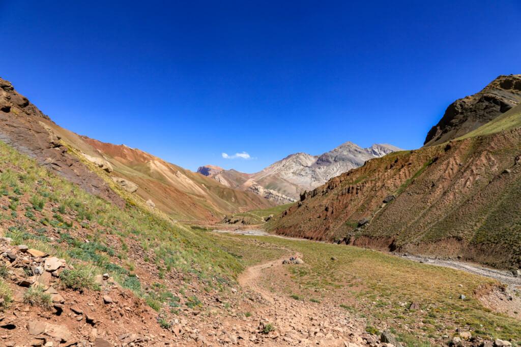 アコンカグア登山 コンフルエンシアから下山4