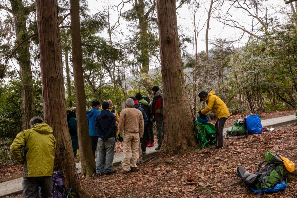 登山ガイド 危急時対応技術義務講習会 ロールプレイ2